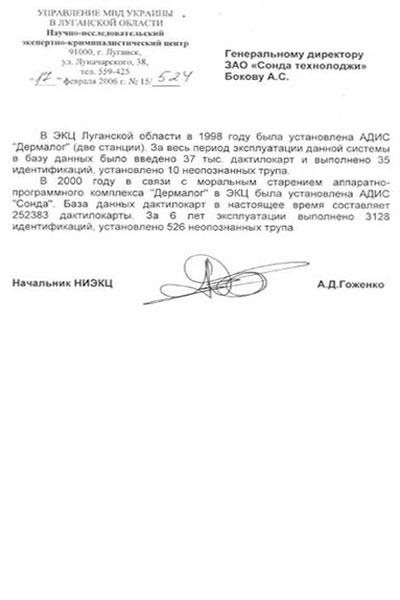 Базу Данных Украины